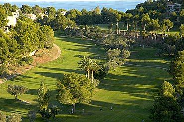 Golf course in Altea, Costa Blanca, Spain, Leisure, sports