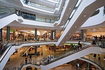 Schlossarkaden shopping centre, Braunschweig, Lower Saxony, Germany, Europe