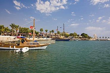 Port of Side, Turkish Riviera, Turkey, Asia