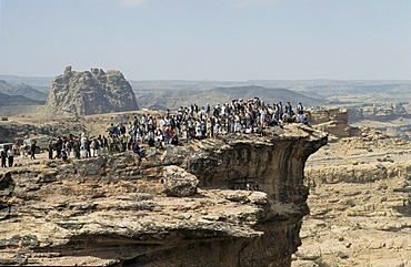 Marriage rocks, Wadi Dhar, Yemen, Arabia, Middle East, Orient