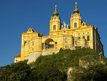 Melk Convent, Melk, Wachau Region, Lower Austria, Europe