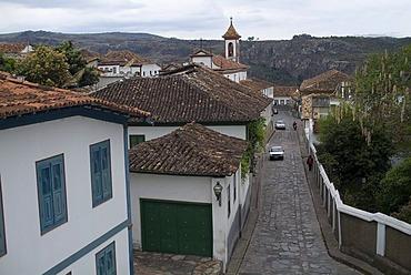 Nossa Senhora do Carmo Church, Diamantina, UNESCO World Heritage Site, Minas Gerais State, Brazil