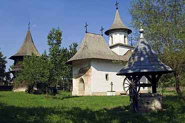 Holy Rood Church, UNESCO World Heritage Site, Patrauti, Southern Bukovina, Moldova, Romania, Europe