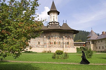Monastery of Sucevita, UNESCO World Heritage Site, Southern Bukovina, Moldova, Romania, Europe