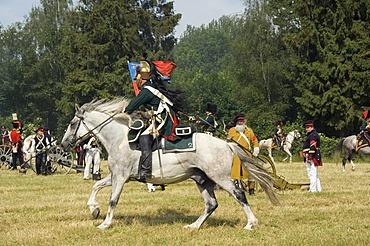 8th Napoleonic bivouac, reproduction of the historical Battle of Waterloo in 1815, Waterloo, Brabant, Belgium