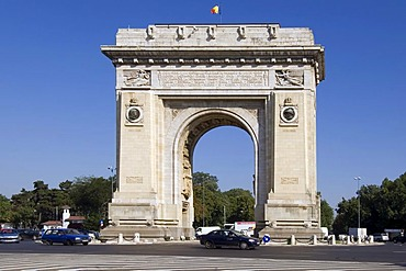 Triumphal Arch, Bucharest, Rumania