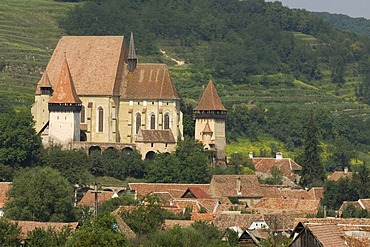 Fortified church Biertan, Unesco World Heritage Site, Transylvania, Rumania