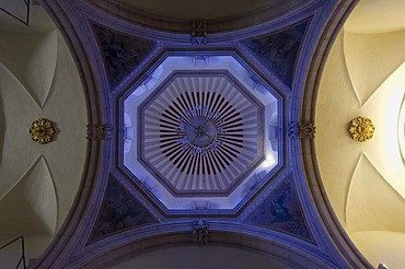 Convent Santa Cruz, interior, historic town Santiago de Queretaro, UNESCO World Heritage Site, Province of Queretaro, Mexico