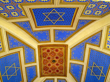 Roof of synagogue in Straznice, Hodonin district, Southern Moravia, Czech Republic, Europe