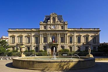 Le Prefecture, Montpellier, Languedoc-Roussillion, France, Europe, PublicGround