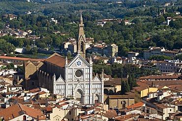 Basilica of the Holy Cross, Florence, Emilia Romagna, Italy, Europe