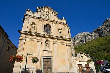 Eglise Notre-Dame des Fontaines, La Brigue, Provence-Cotes-des-Alpes-d'Azur, France, Europe