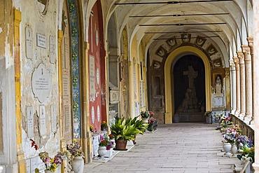 Cimitero Certosa, Carthusian cemetery, Ferrara, Emilia Romagna, Italy, Europe