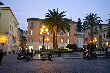 Piazza Roma, Ascoli Piceno, Marche, Italy, Europe