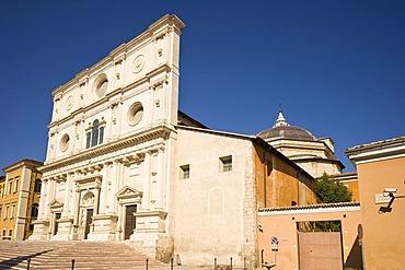 Basilica, San Bernardino, LÂ¥Aquila, Abruzzo, Abbruzzi, Italy, Europe, PublicGround