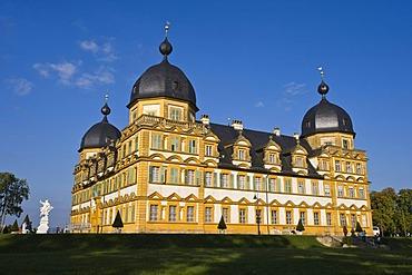 Seehof Castle, Memmelsdorf near Bamberg, Upper Franconia, Bavaria, Germany, Europe, PublicGround