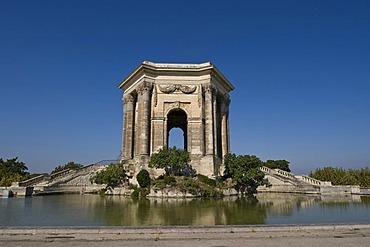 Pavilion, Promenade du Peyrou, Montpellier, Languedoc-Roussillion, France, PublicGround