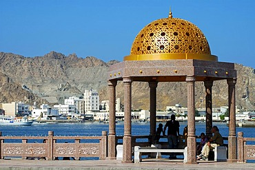 View of the Muttrah district, Muscat, Sultanate of Oman, Middle East