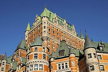 Hotel Fairmont Le Chateau Frontenac, Quebec City, Canada, North America