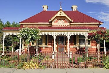 Domestic colonial style house, Bendigo, Victoria, Australia