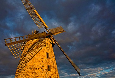 Liesbergmuehle, Liesberg Mill, built in 1756, on of the city landmarks of Enger, North Rhine-Westphalia, Germany, Europe