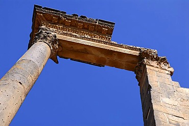 Roman ruins in Bosra, Syria, Middle East, Asia