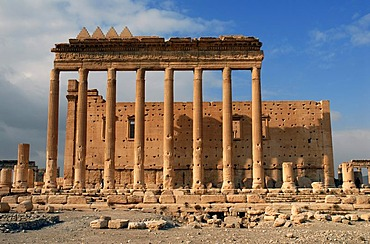 Ruins of the Baal-Temple in Palmyra, Syria, Near East, Asia