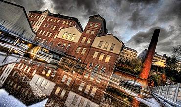 Former industrial building, Wuppertal, North Rhine-Westphalia, Germany, Europe