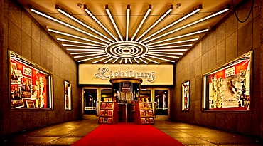 Kino Lichtburg, Lichtburg Cinema, Essen an der Ruhr, North Rhine-Westphalia, Germany, Europe