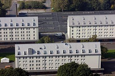 Speicherstadt Coerde, store-houses, Muenster, North Rhine-Westphalia, Germany, Europe