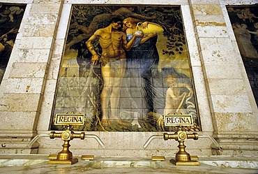 Tettuccio, thermal spa in an Art Nouveau style, drink hall, Montecatini Terme, Tuscany, Italy, Europe