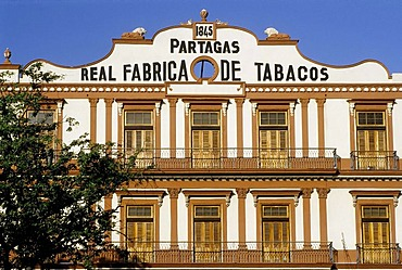 Historic cigars factory, Fabricia de Tobacos Partagas, Centro Habana, Havana, Cuba, Caribbean