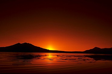 Lago Chungara, Lauca National Park, Chile, South America