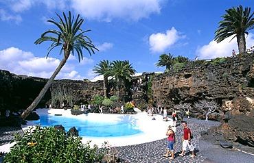 Jameos de Agua of Manrique, Lanzarote, Canary Islands, Spain, Europe