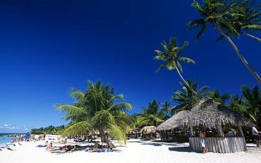 Playa Bonita on Saona Island, Parque Nacional del Este, Dominican Republic, Caribbean
