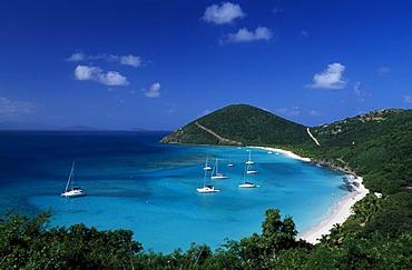 White Bay, Jost Van Dyke Island, British Virgin Islands, Caribbean