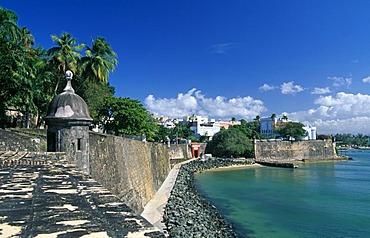 La Fortaleza, historic city centre, San Juan, Puerto Rico, Caribbean