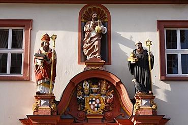 Episcopal seminary, convent building, Fulda, Rhoen, Hesse, Germany, Europe