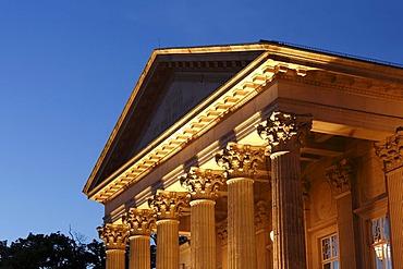 Meininger Theatre, Meiningen, Rhoen, Thuringia, Gerrmany, Europe