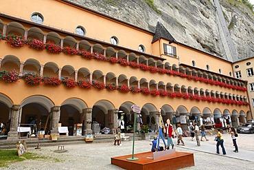 Flea market in Buergerspital, Salzburg, Austria, Europe
