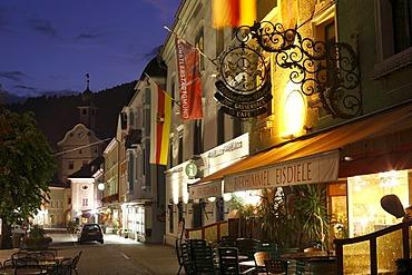 Main square, Gmuend in Carinthia, Austria, Europe
