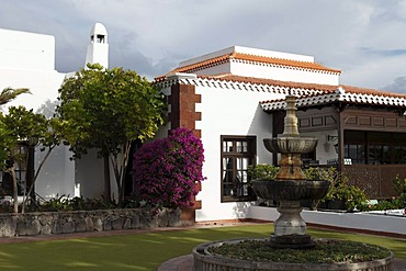 Hotel facility Jardin Tecina, Playa de Santiago, La Gomera, Canaries, Canary Islands, Spain, Europe