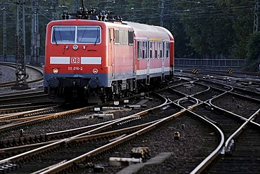 German Rail regional train