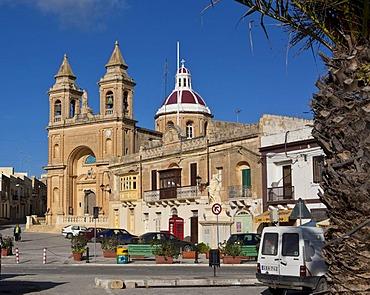 Church of Our Lady of Pompeii, port of Marsaxlokk, Malta, Europe