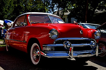 1951 Ford at a Classic Car Show in Belvidere, New Jersey, USA