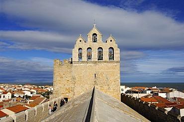 Church of Saintes Maries de la Mer, La Camargue, Provence, France, Europe