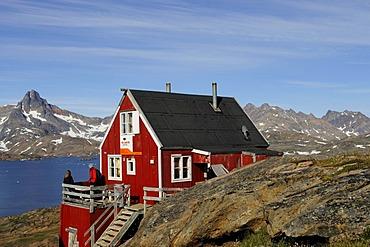 The Red House, trekking tour operator, Tasiilaq, Ammassalik, East Greenland, Greenland