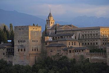 Alhambra, Granada, Andalusia, Spain, Europe