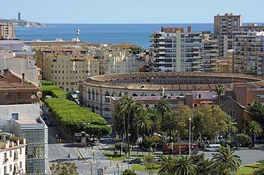 Plaza de Toros, Malaga, Andalusia, Spain, Europe