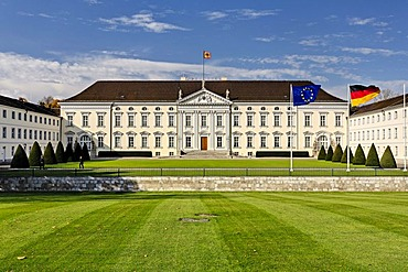 Bellevue Palace, seat of the President of Germany, Berlin, Germany, Europe